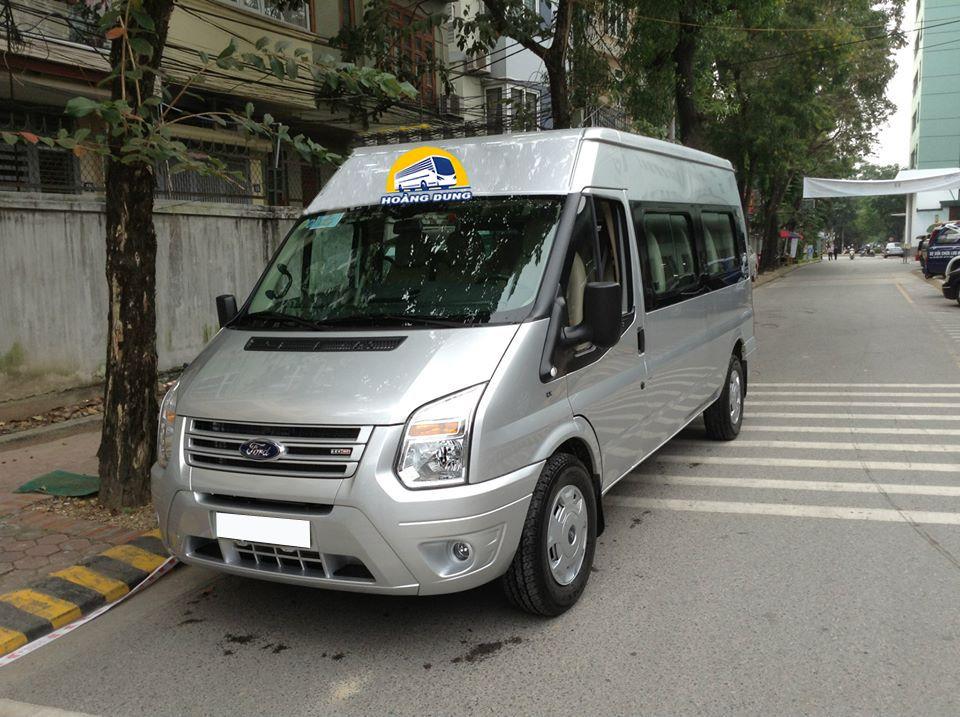 Cho thuê xe 16 chỗ tại Tiền Giang