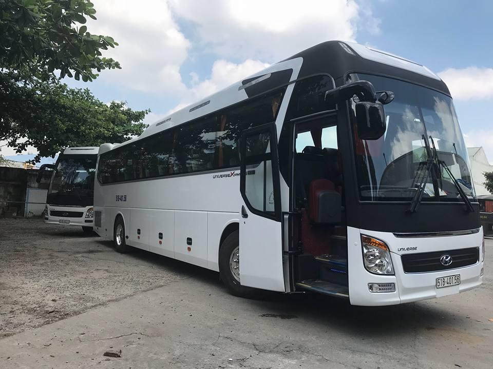 Thuê xe khách 45 chỗ tại TPHCM