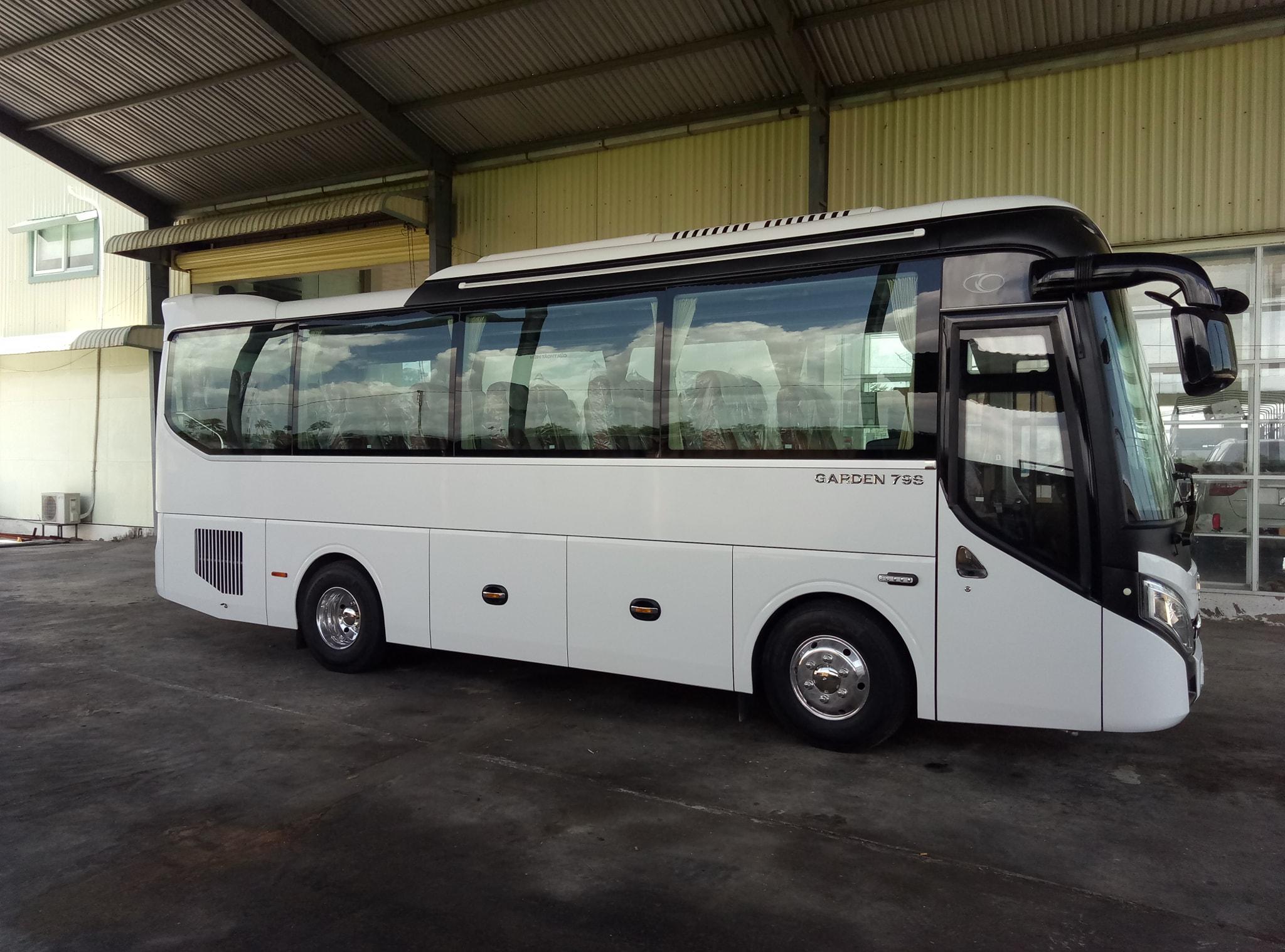 Thuê xe du lịch 29 chỗ tại TPHCM