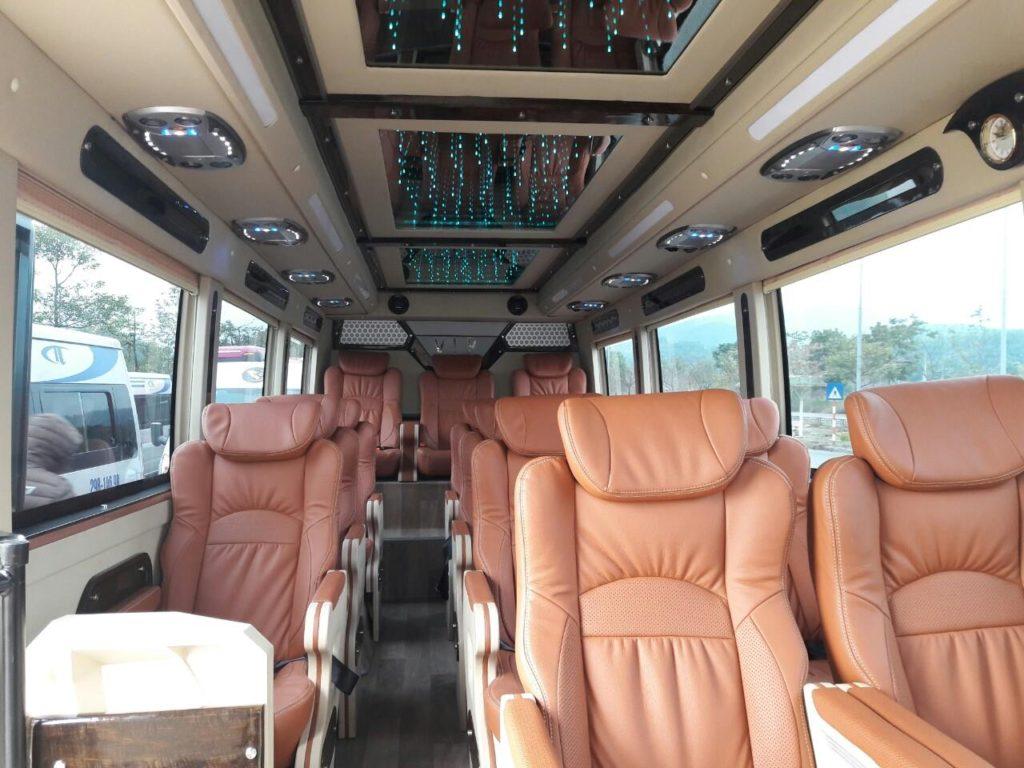 dịch vụ thuê xe 16 chỗ tại Bến Tre
