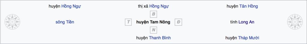 Huyện Tam Nông Cao Lãnh