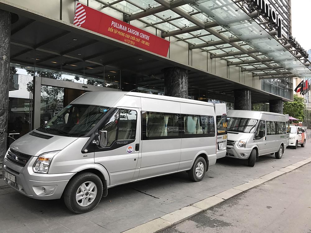 Cho thuê xe 16 chỗ tại thành phố Hồ Chí Minh