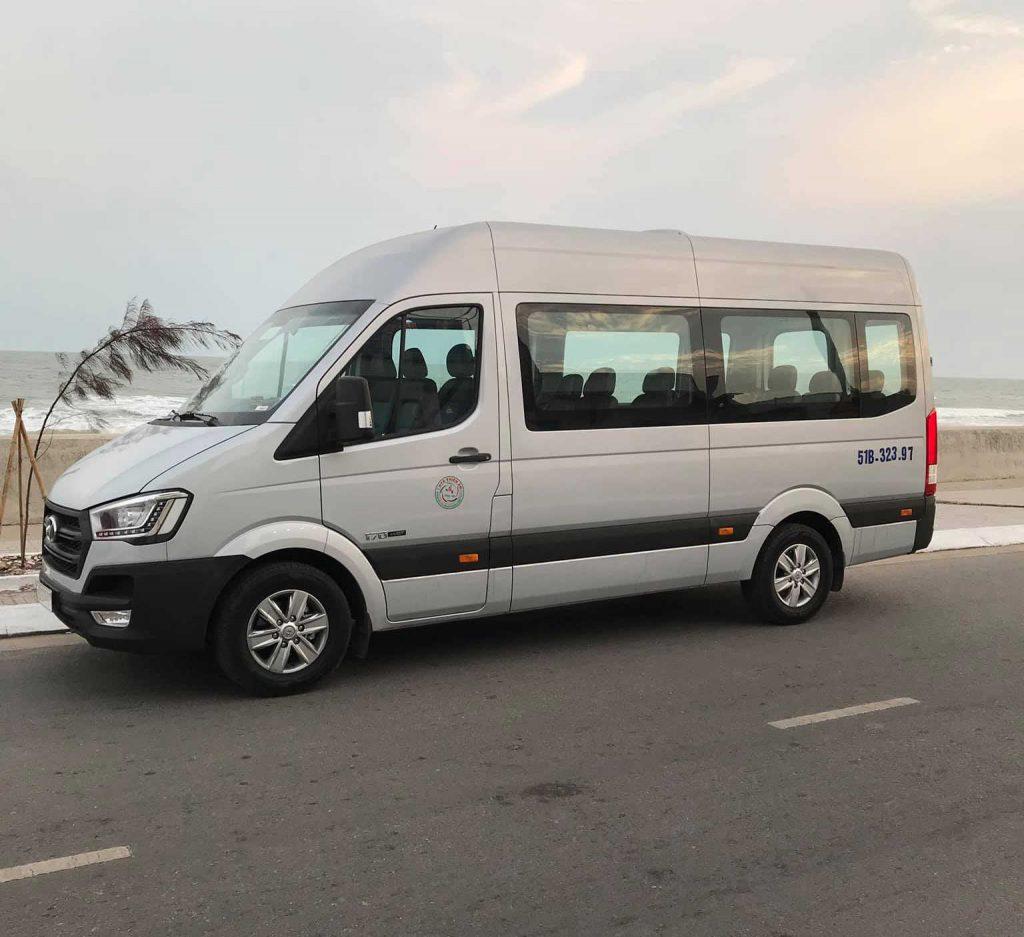 Thuê xe 16 chỗ đi Ninh Thuận