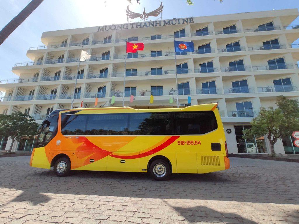 thuê xe 29 chỗ đi Ninh Chữ Vĩnh Hy