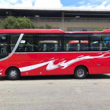 Dịch vụ cho thuê xe 29 chỗ tại Long An Tân An giá rẻ