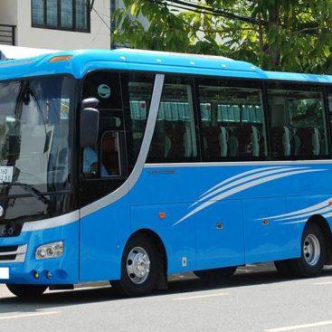 Dịch vụ cho thuê xe du lịch Samco 29 chỗ tại TPHCM