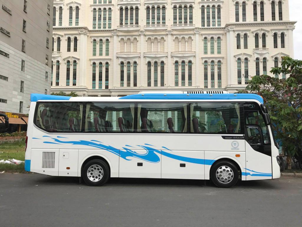 thuê xe 29 chỗ tại Tân Phú Đông