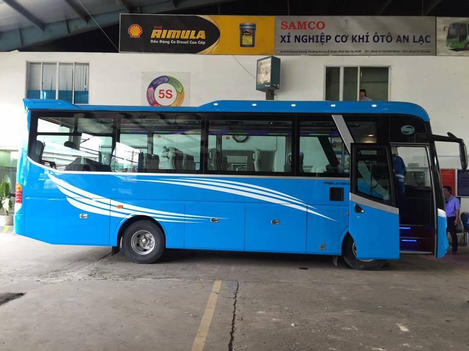 Cho thuê xe du lịch 25 chỗ tại TPHCM