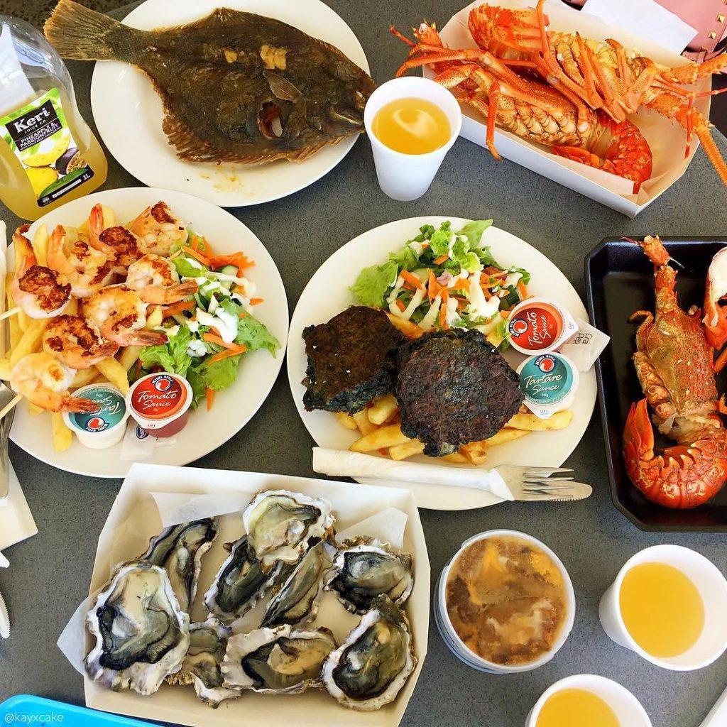 ăn gì khi du lịch hồ tràm hồ cốc