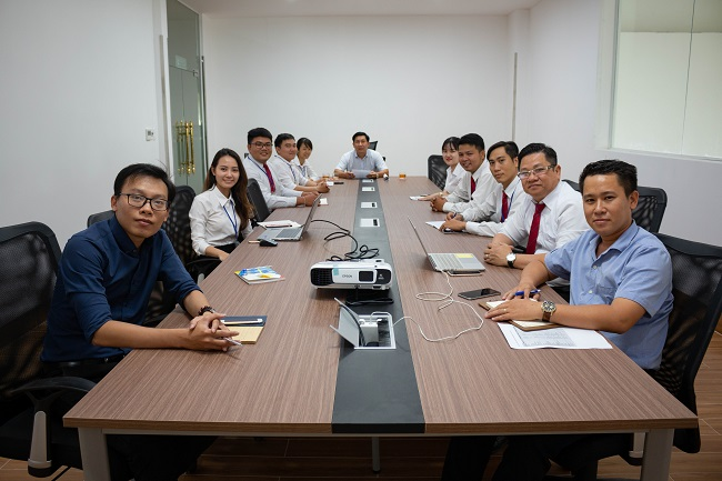 văn phòng Nhà xe Hoàng Dung